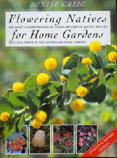 Flowering natives for home gardens book